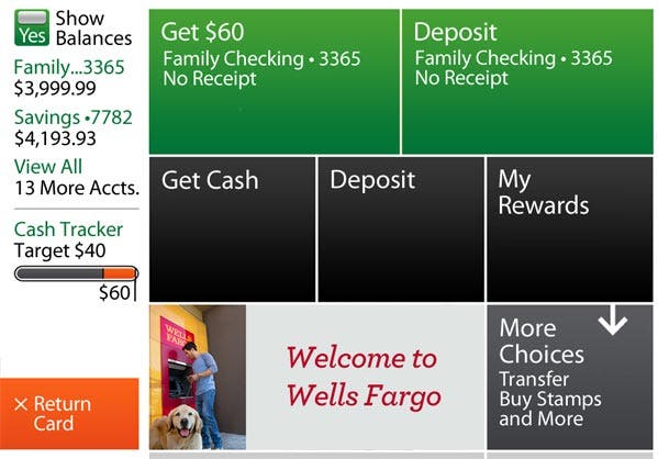 Get your wells fargo rewards at the atm credit card blog wells fargo rewards for cash reheart Gallery
