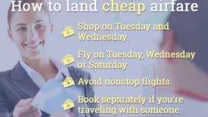 Jean Chatzky: 4 ways to save on airfare