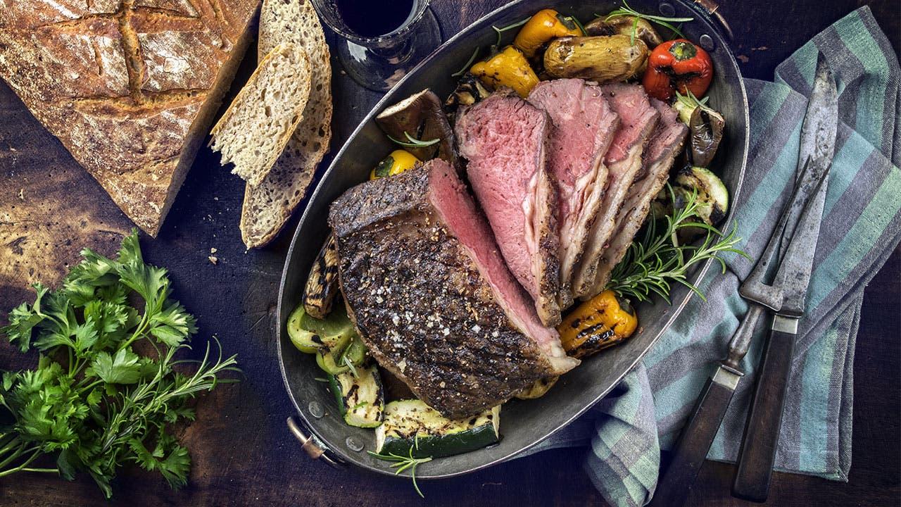 Pot Roast on table