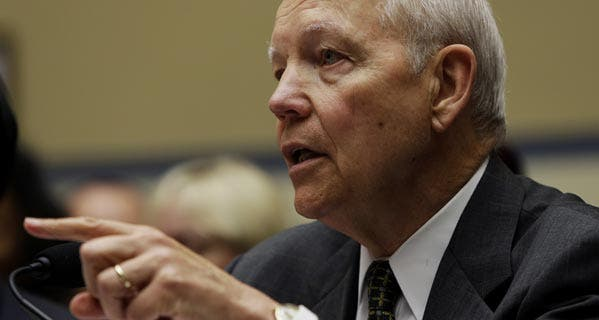"IRS Commissioner John Koskinen told the Senate Finance Committee that ""protecting taxpayers' information is a top priority."""