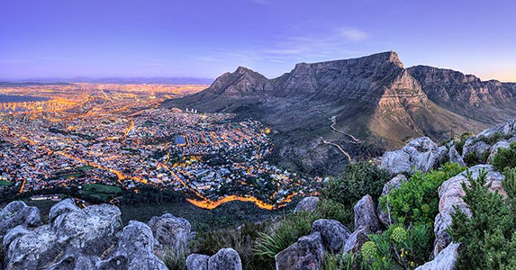 Cape Town, South Africa, offers attractive real-estate deals for the global rich.