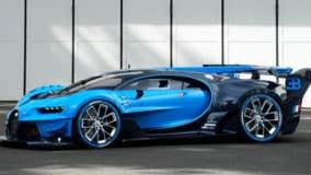 Bugatti brings video-game car to life