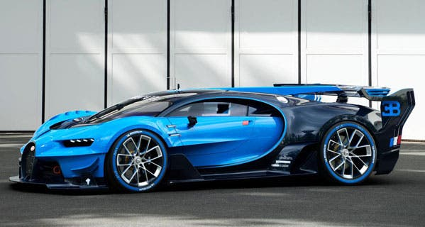 Bugatti brings video-game car to life