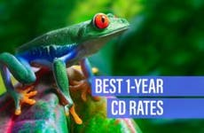 Best 1-year CD rates