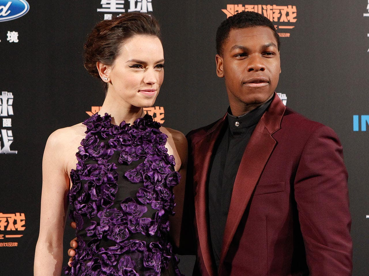 Daisy Ridley and John Boyega | STR/Getty Images