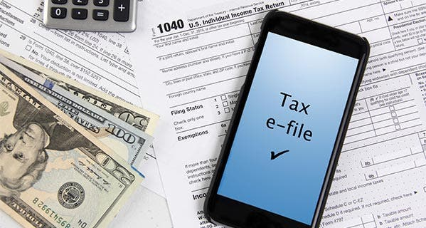 Despite the implementation of extra checks to authenticate identity, the IRS says e-filers can expect a refund in 3 weeks. iStock.com/pkstock