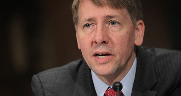 Consumer Financial Protection Bureau Director Richard Cordray has warned banks about the accuracy of their negative reports about consumers to credit agencies. Alex Wong/Getty Images
