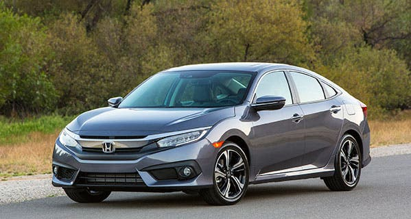 Photo is courtesy Honda. The Honda Civic is currently the most frequently leased new car currently.