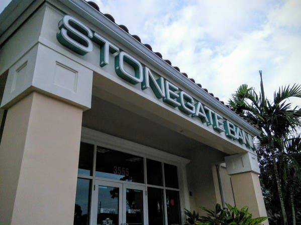 Stonegate Bank branch in Jupiter, Florida. Holden Lewis/Bankrate