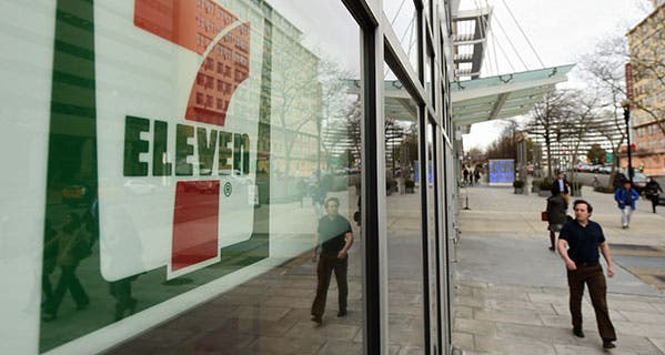 The unbanked as well as those who prefer dealing in cash can now pay their taxes at a 7-Eleven store. The Washington Post/Getty Images
