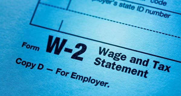 The latest data breach involves the sensitive salary and tax data contained on W-2 forms. Nadya Lukic/E+/Getty Images