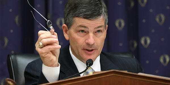 By introducing new legislation to repeal and replace Dodd-Frank now, House Financial Services Committee Chairman Jeb Hensarling may be betting on a big GOP win in 2016. Credit: Mark Wilson/Getty.
