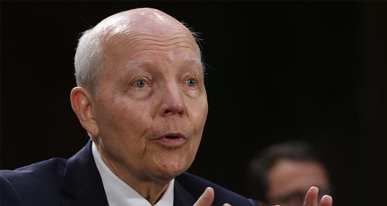 Together with state tax agencies and private-sector partners, IRS Commissioner John Koskinen aims to tighten security measures designed to thwart and catch tax ID thieves. Credit: Chip Somodevilla/Getty Images