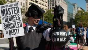 Student loans a back burner issue for GOP
