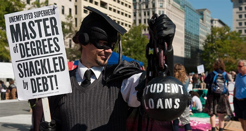 Student loans a back burner issue for GOP