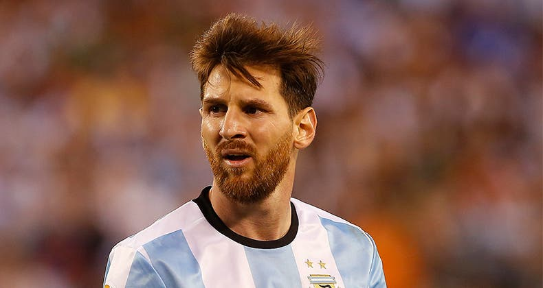 Soccer star Lionel Messi isn't having a great summer this year. Photo Credit: Rich Schultz/STR/Getty Images