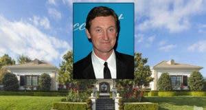 Wayne Gretsky Celeb House for Sale | House: Realtor.com | Wayne: © s_bukley Shutterstock.com