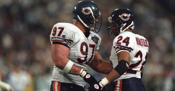 Chris Zorich (#97) | Joseph Patronite/Getty Images