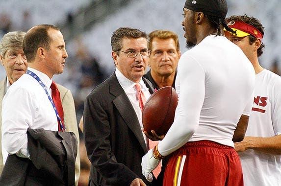 No. 3: Washington Redskins, $2.4 billion © Ray Carlin/Icon Sportswire/Corbis