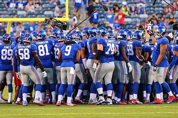 No. 4: New York Giants, $2.1 billion © Rich Graessle/Icon Sportswire/Corbis