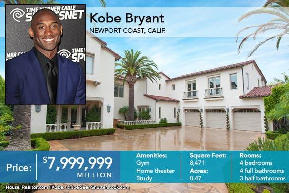 Kobe Bryant Celeb House of the Week   Relator.com
