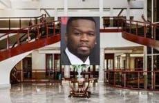 50 Cent © ANDREW KELLY/Reuters/Corbis; House: Realtor.com
