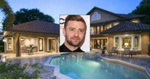 Justin Timberlake   Steve Granitz/WireImage/Getty Images; House: Redfin