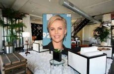 Charlize Theron | Mireya Acierto/Getty Images; House: Redfin.com