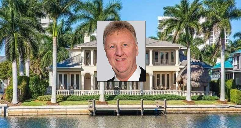 Celebrity House For Sale Nba Hall Of Famer Larry Bird