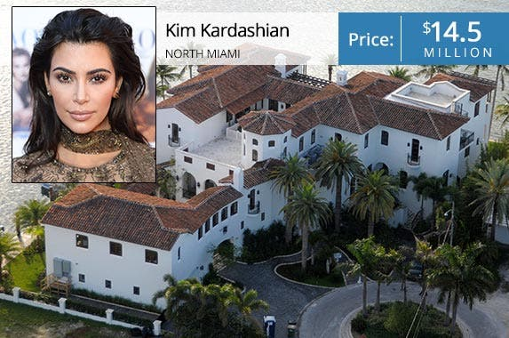 Kim Kardashian | Mike Marshland/Getty; House: The Jills Group at Coldwell Banker