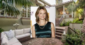 jodie foster celeb house of the week | House: Realtor.com | Jodie: © Helga Esteb Shutterstock.com