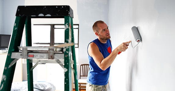 Spruce up your walls | Tim Kitchen/Getty Images