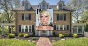Taylor Swift | Mark Davis/Getty Images; House: Realtor.com