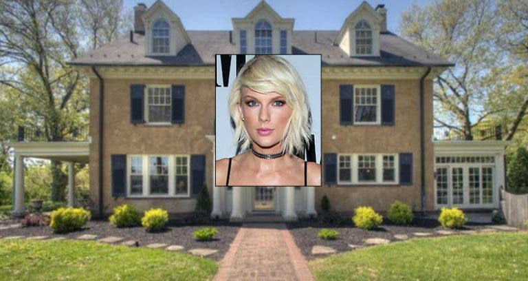 Taylor Swift's childhood home