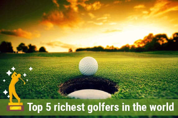 Richest golfers in the world © Cardens Design/Shutterstock.com