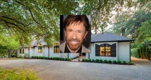 Chuck Norris | Steve Granitz/Getty Images; House: Realtor.com