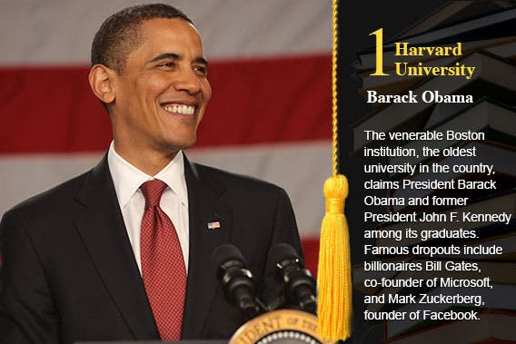 Harvard University - Barack Obama © Ron Foster Sharif/Shutterstock.com