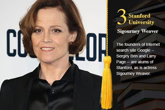Stanford University - Sigourney Weaver © Featureflash/Shutterstock.com