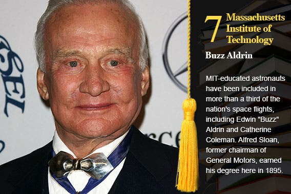Massachusetts Institute of Technology - Buzz Aldrin © s_bukley/Shutterstock.com