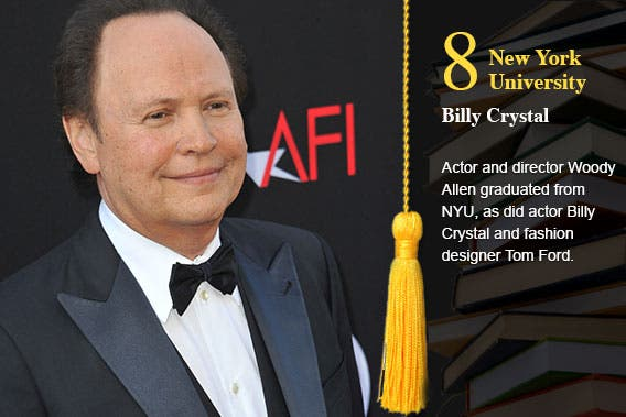 New York University - Billy Crystal © Jaguar PS/Shutterstock.com