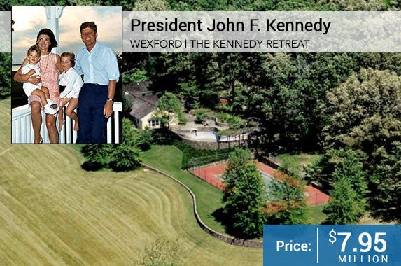 JFK & Family Credit Cecil W. Stoughon; House: Patricia Burns, Middleburg Real Estate