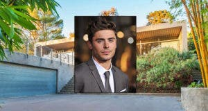 Zac Efron Celeb House of the Week for Sale House: Realtor.com | Zac Efron: © Featureflash/Shutterstock.com