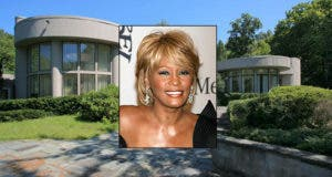 Whitney Houston House for Sale | House: © Realtor.com | Whitney Houston © s_bukley Shutterstock.com