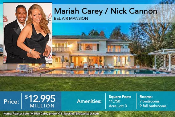 Celebrity house for sale: Mariah Carey Nick Cannon