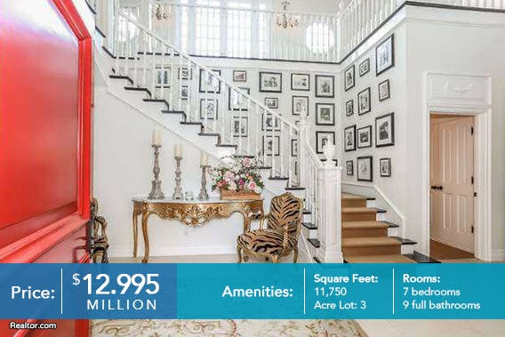 Celebrity house for sale: Mariah Carey Nick Cannon © Realtor.com