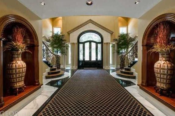 Foyer, Celebrity house for sale: Realtor.com