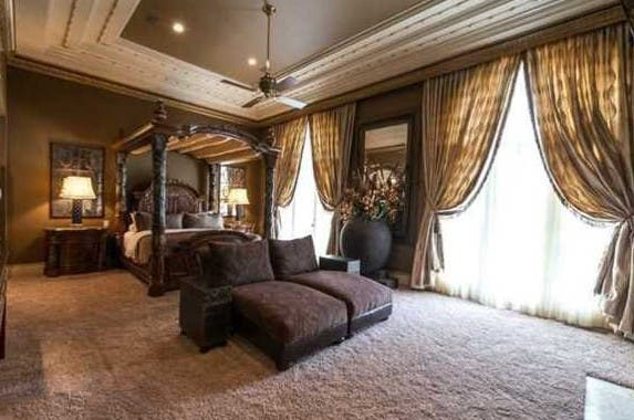 Bedroom, Celebrity house for sale: Realtor.com