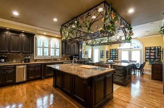 Kitchen, Celebrity house for sale: Realtor.com