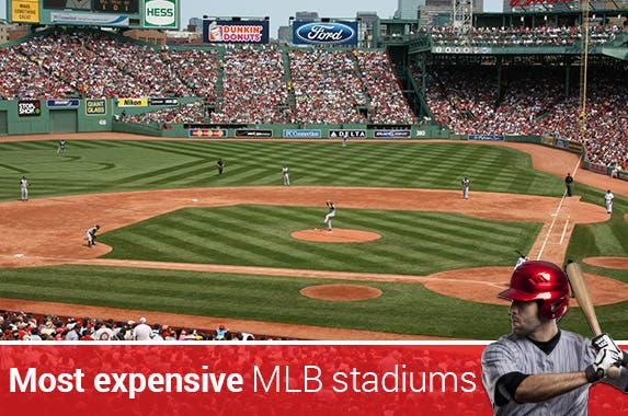 10 most expensive MLB stadiums © Christopher Penler/Shutterstock.com
