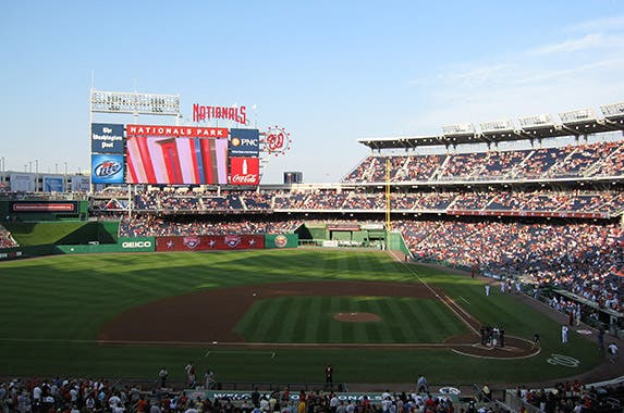 Nationals Park (Washington Nationals) © Christopher Penler/Shutterstock.com